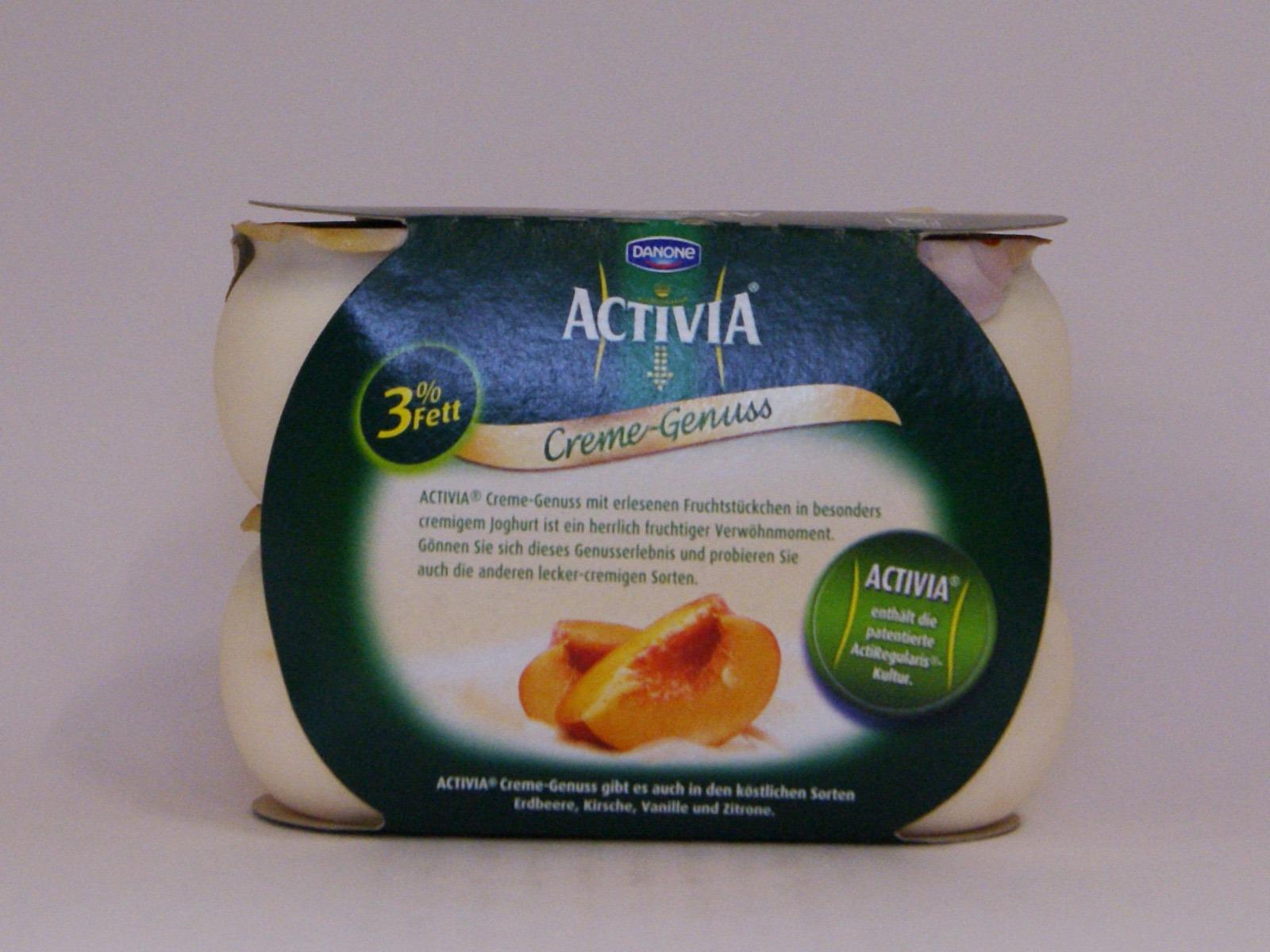 Activia Creme-Genuss Pfirsich