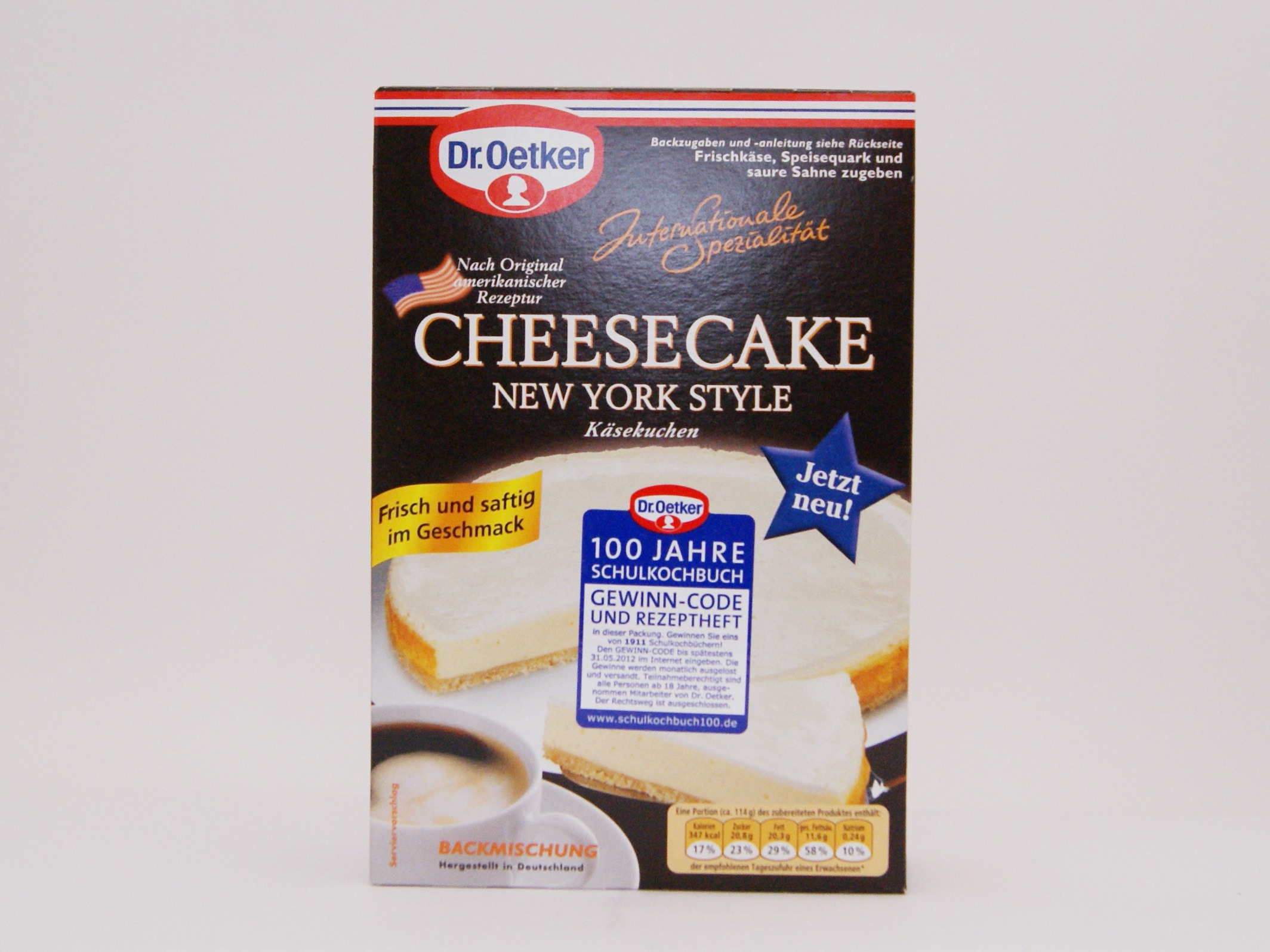 Dr Oetker Cheesecake New York Style Kjero Com