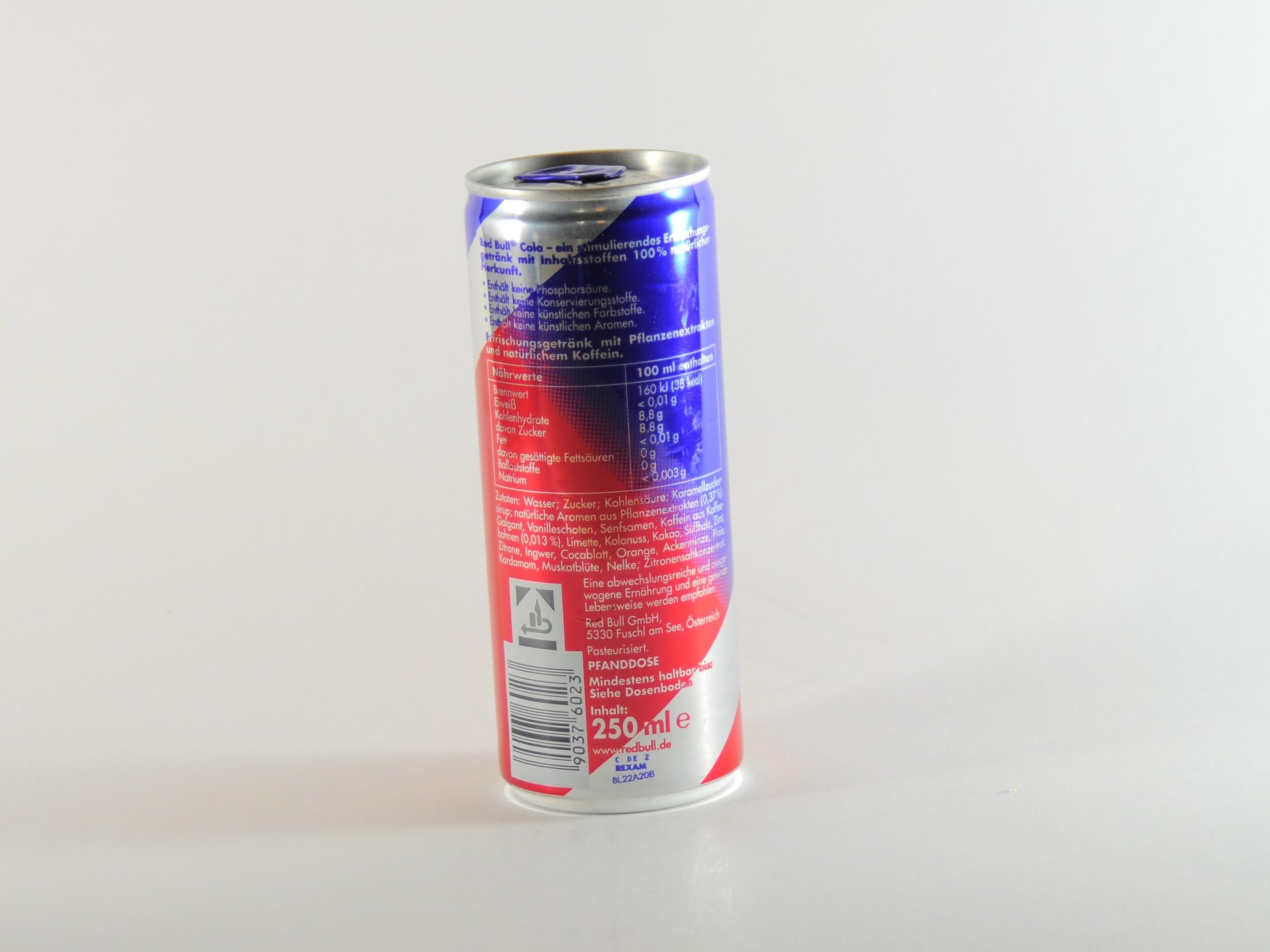 Red Bull Cola Kühlschrank : Testberichte red bull cola u kjero