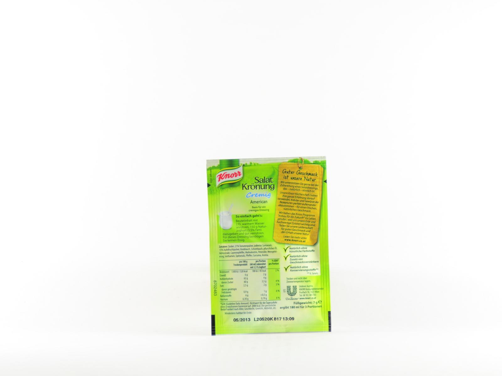 Knorr Salatkrönung American