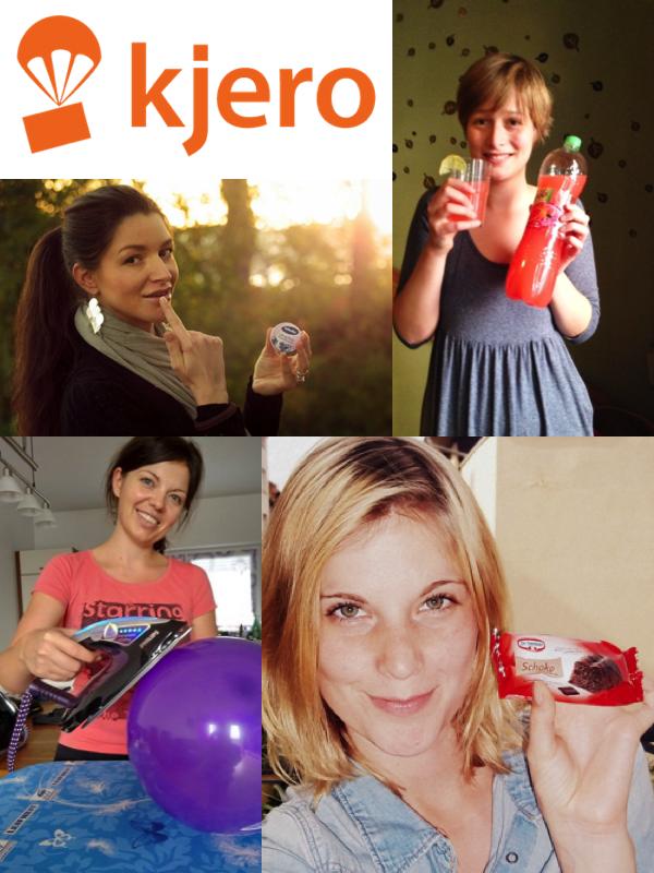 Viele spannende, neue Produkte bei Kjero testen