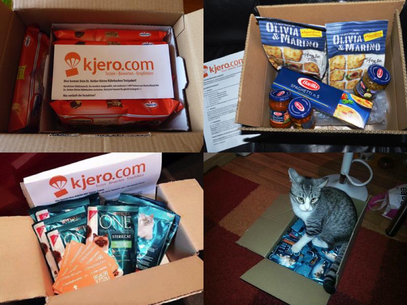Das Testpaket von Kjero-viele spannende Marken