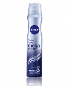 NIVEA Mega Strong Styling Spray