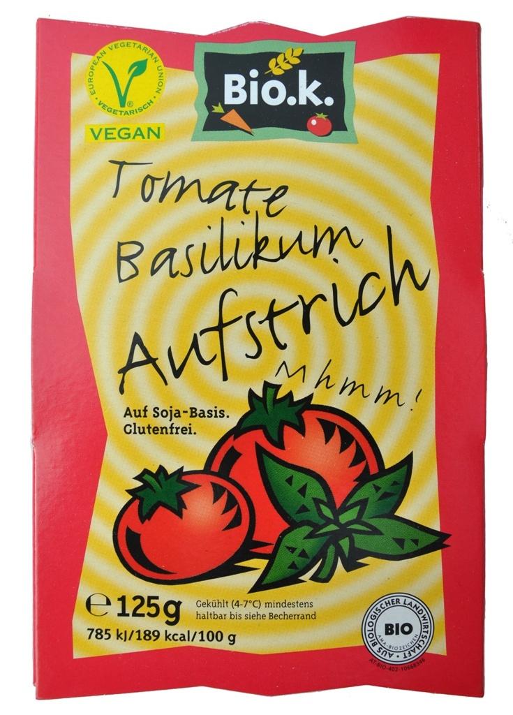 Bio.k. Tomate Basilikum Aufstrich