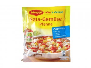 Maggi fix&frisch Feta Gemüse Pfanne