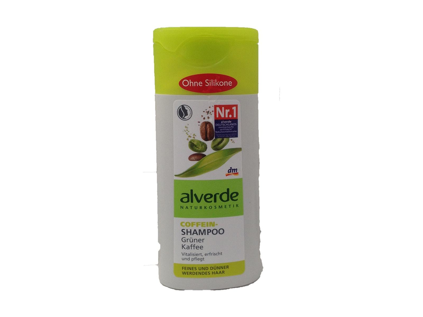 dm alverde shampoo