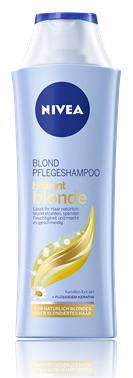 NIVEA Brilliant Blonde Pflegeshampoo
