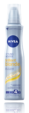 NIVEA Brilliant Blonde Styling Mousse