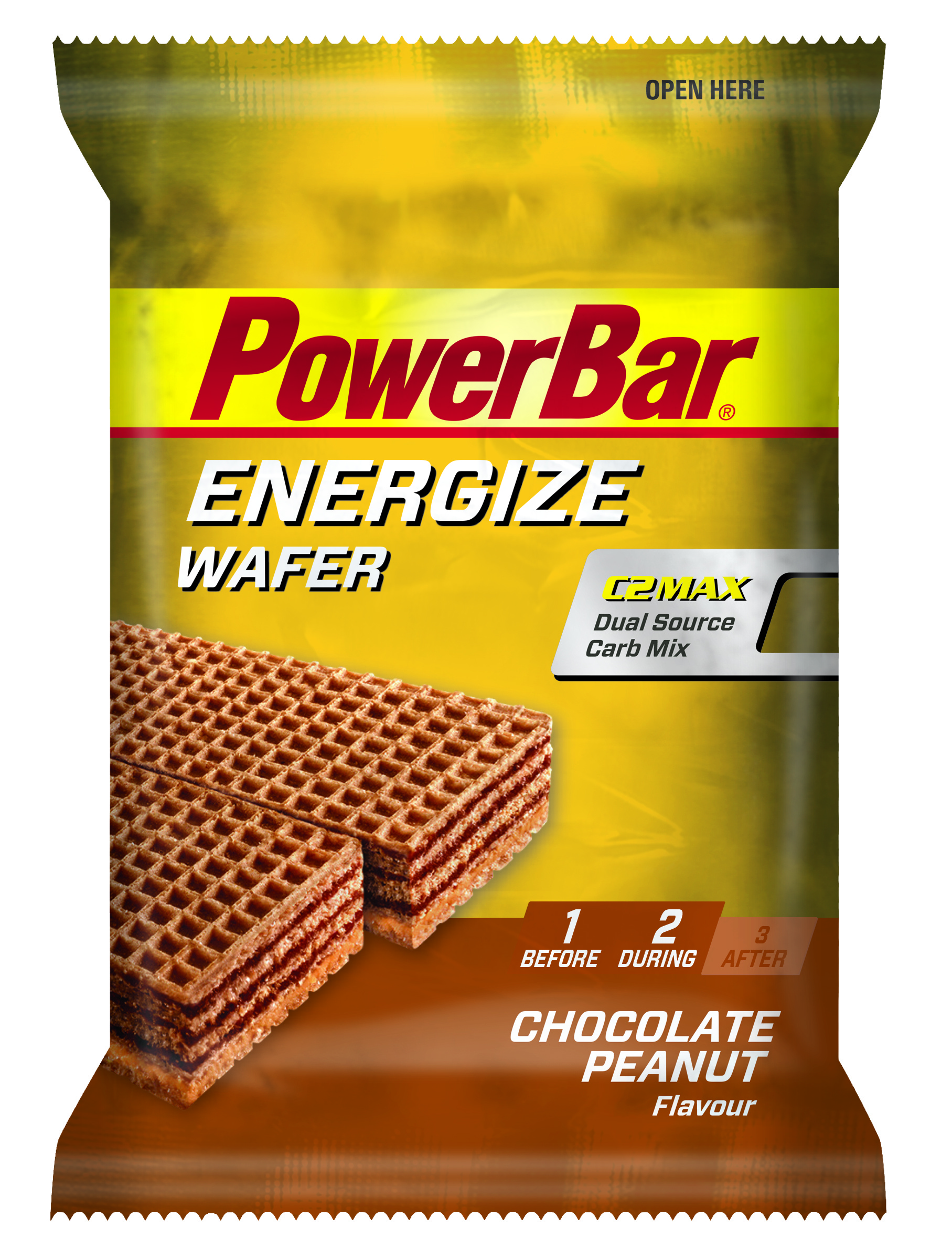 PowerBar Energize Wafer Chocolate Peanut