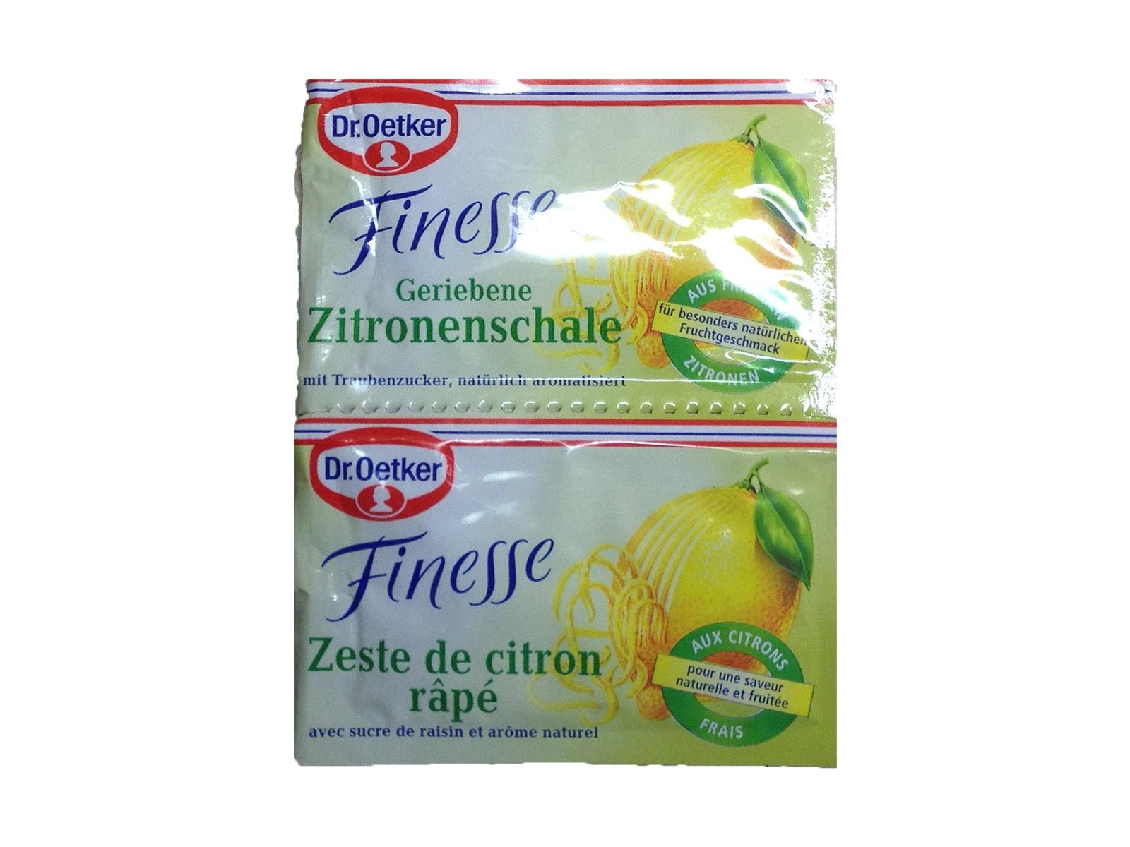 Dr Oetker Zitronenschale