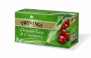 Twinings Green Tea & Cranberry