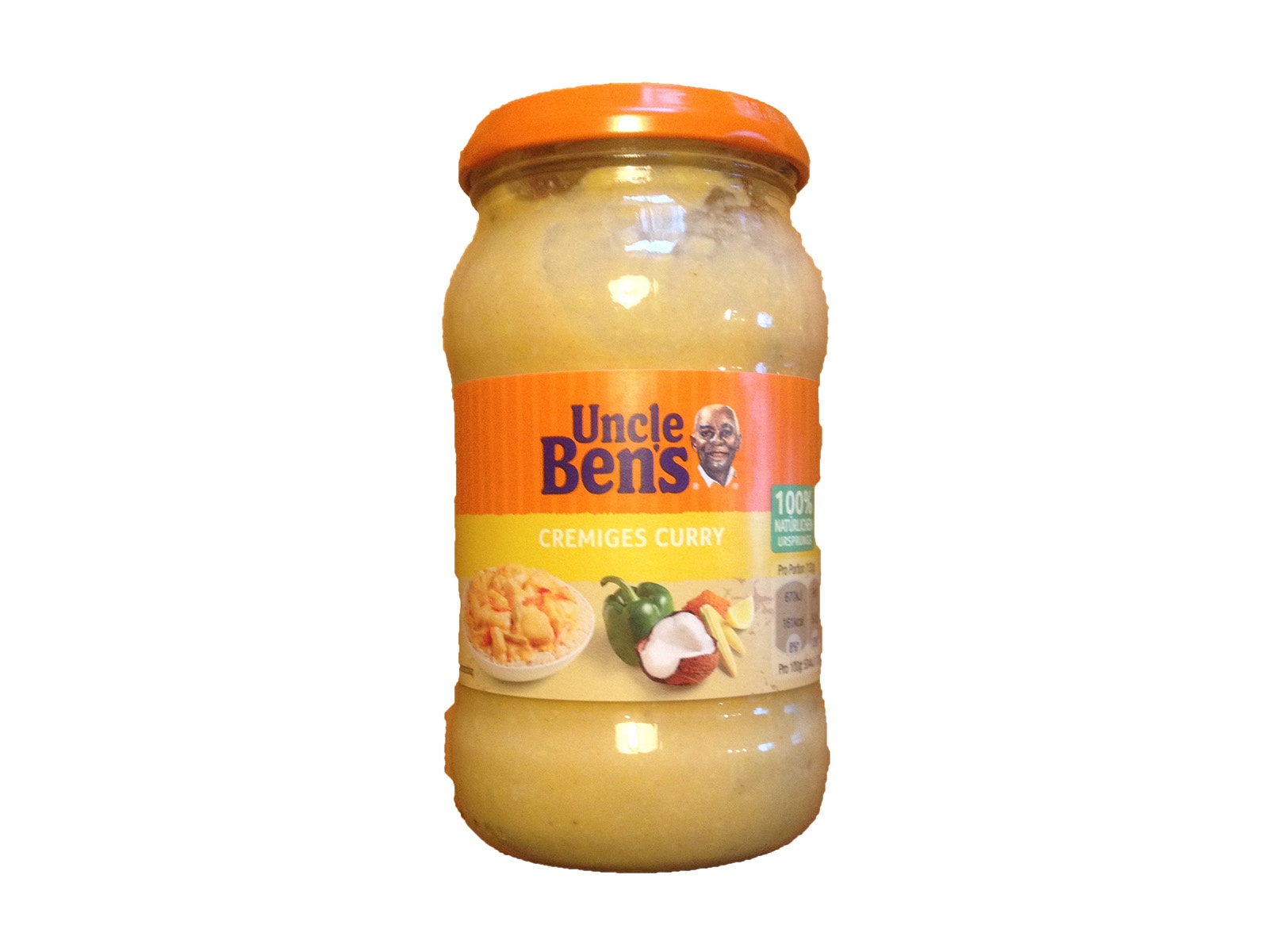 Uncle Ben's Cremiges Curry
