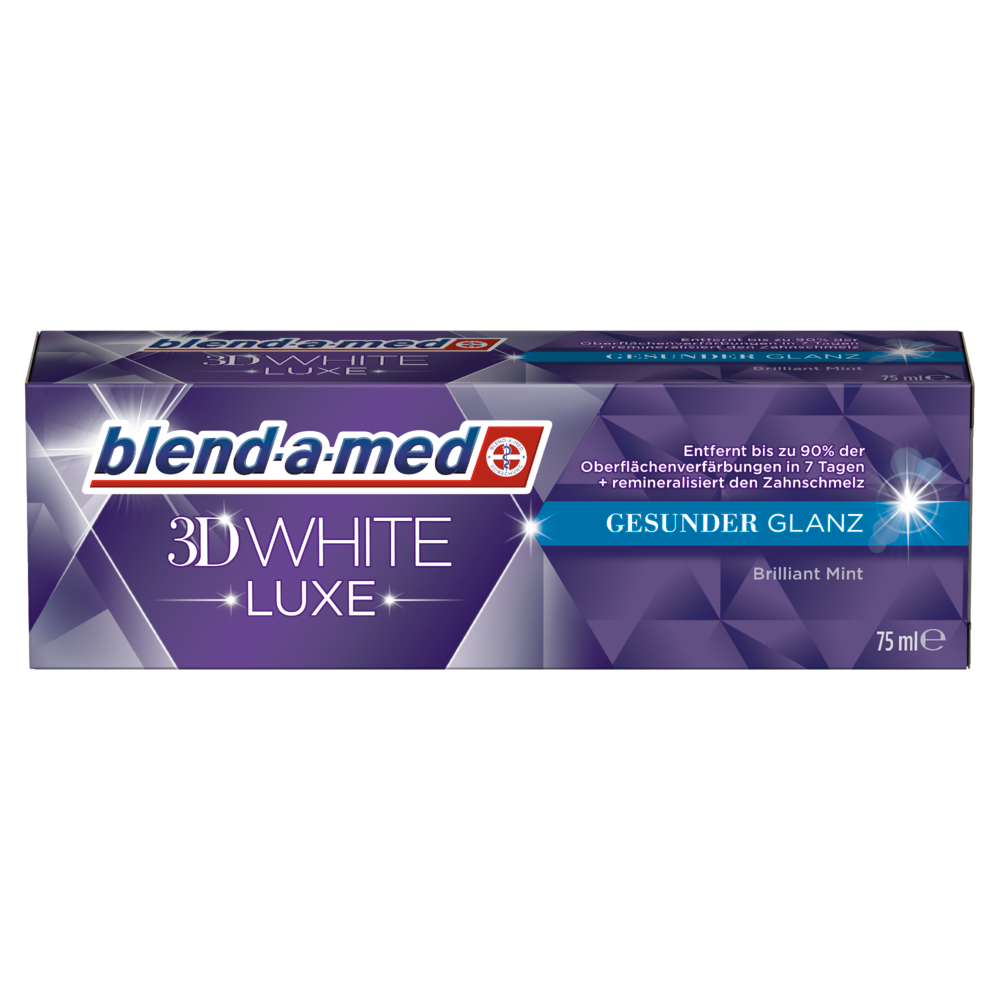 blend-a-med 3D White LUXE Gesunder Glanz