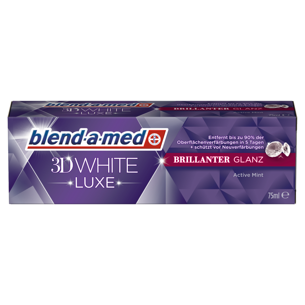 blend-a-med 3D White LUXE Brillianter Glanz