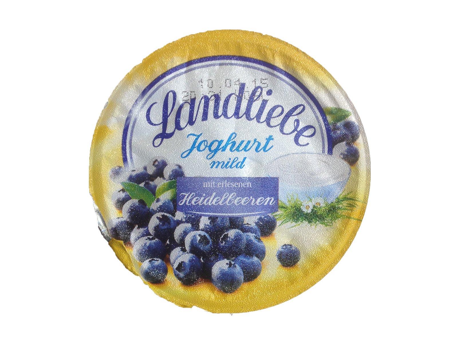 Landliebe Joghurt mild Heidelbeere