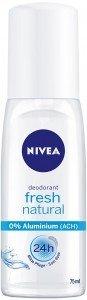 NIVEA Deo fresh natural Pump Spray