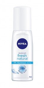 NIVEA Deo fresh natural Pump Spray