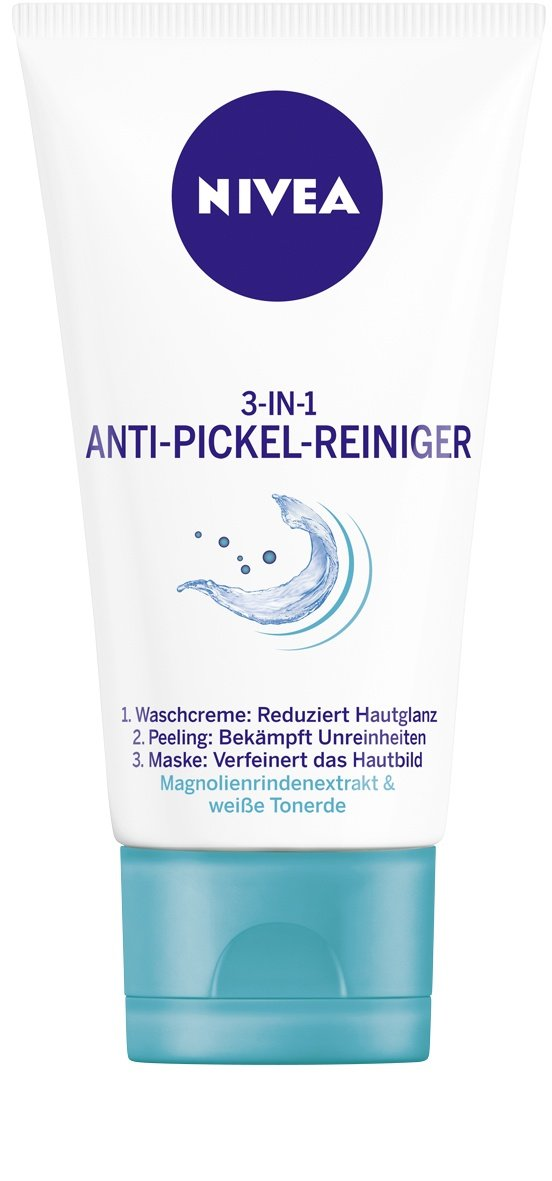 NIVEA 3-in-1 Anti-Pickel-Reiniger