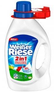 Weisser Riese 2in1 Waschmittel und Vorbehandlung