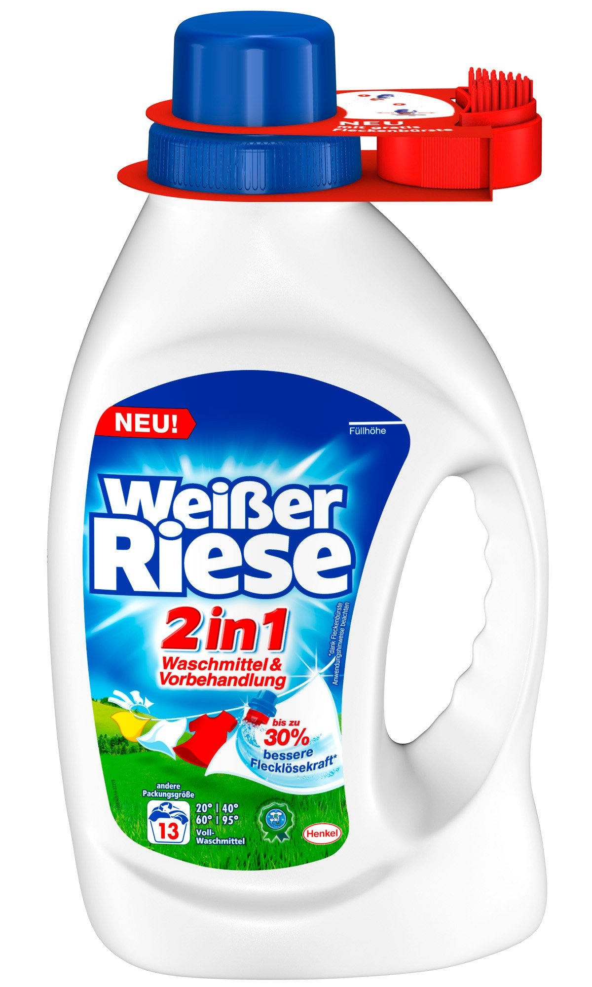 Weißer Riese 2in1 Waschmittel & Vorbehandlung