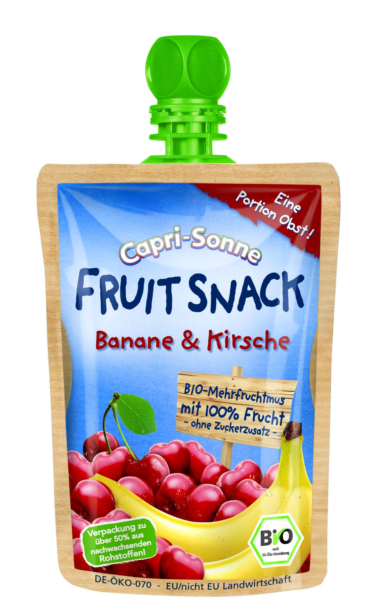 Capri-Sonne FRUIT SNACK Banane Kirsche