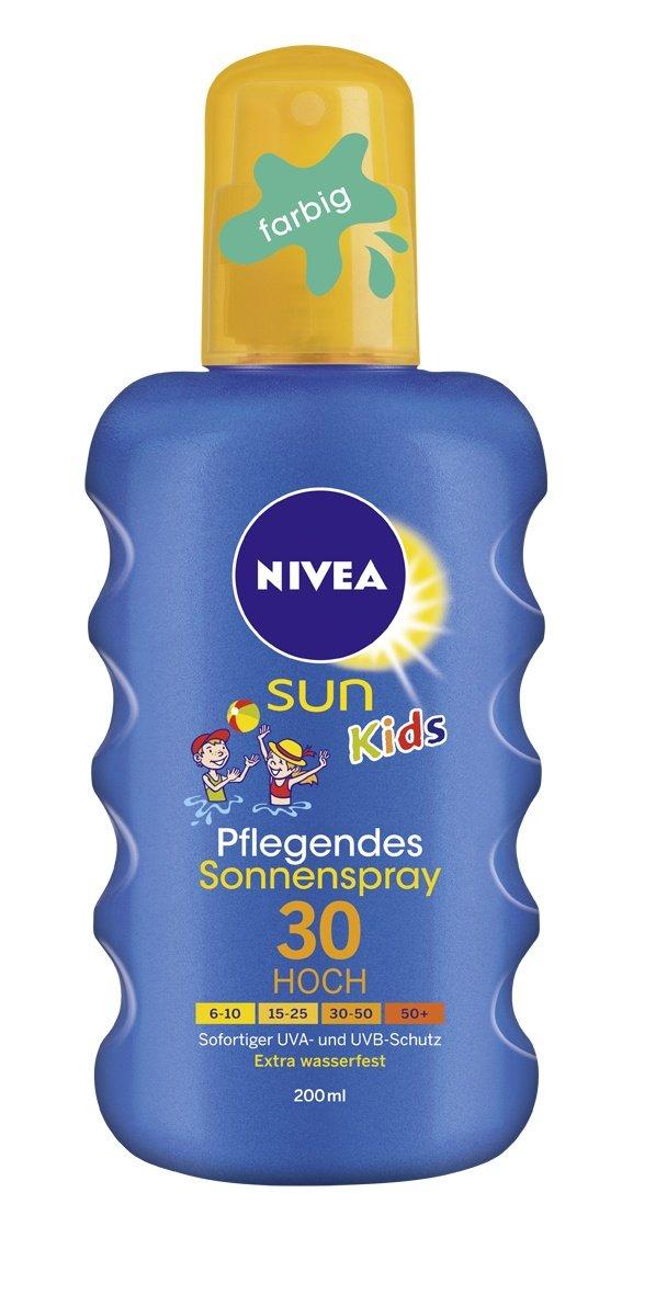 NIVEA Sun Kids Pflegender Sonnenspray farbig