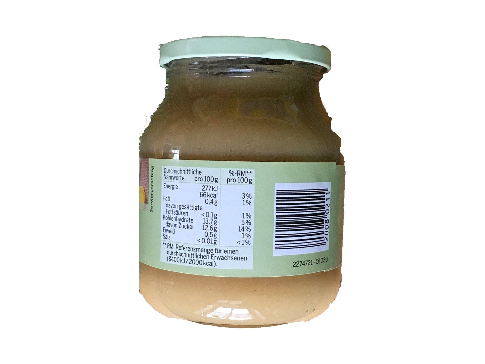 Natur Gut Bio Apfel-Bananenmark