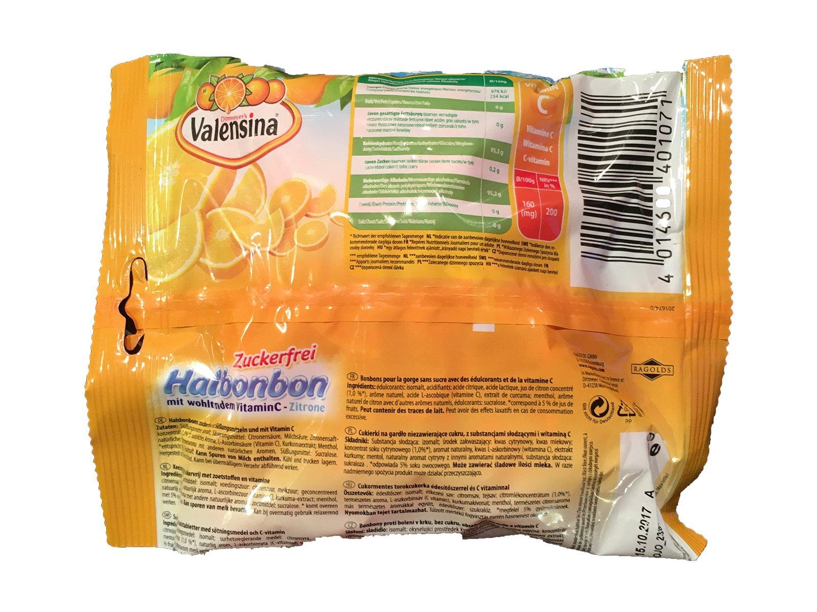Valensina Halsbonbon Zuckerfrei