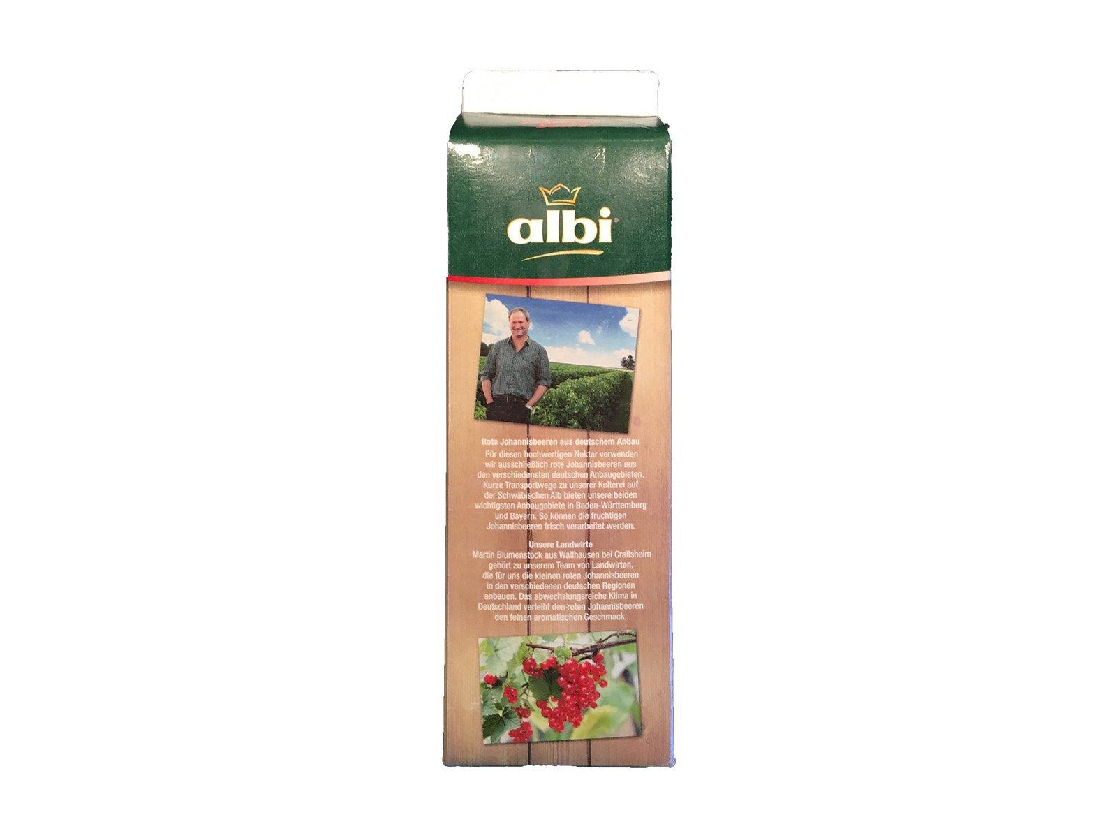 Albi heimische Früchte Rote Johannisbeere