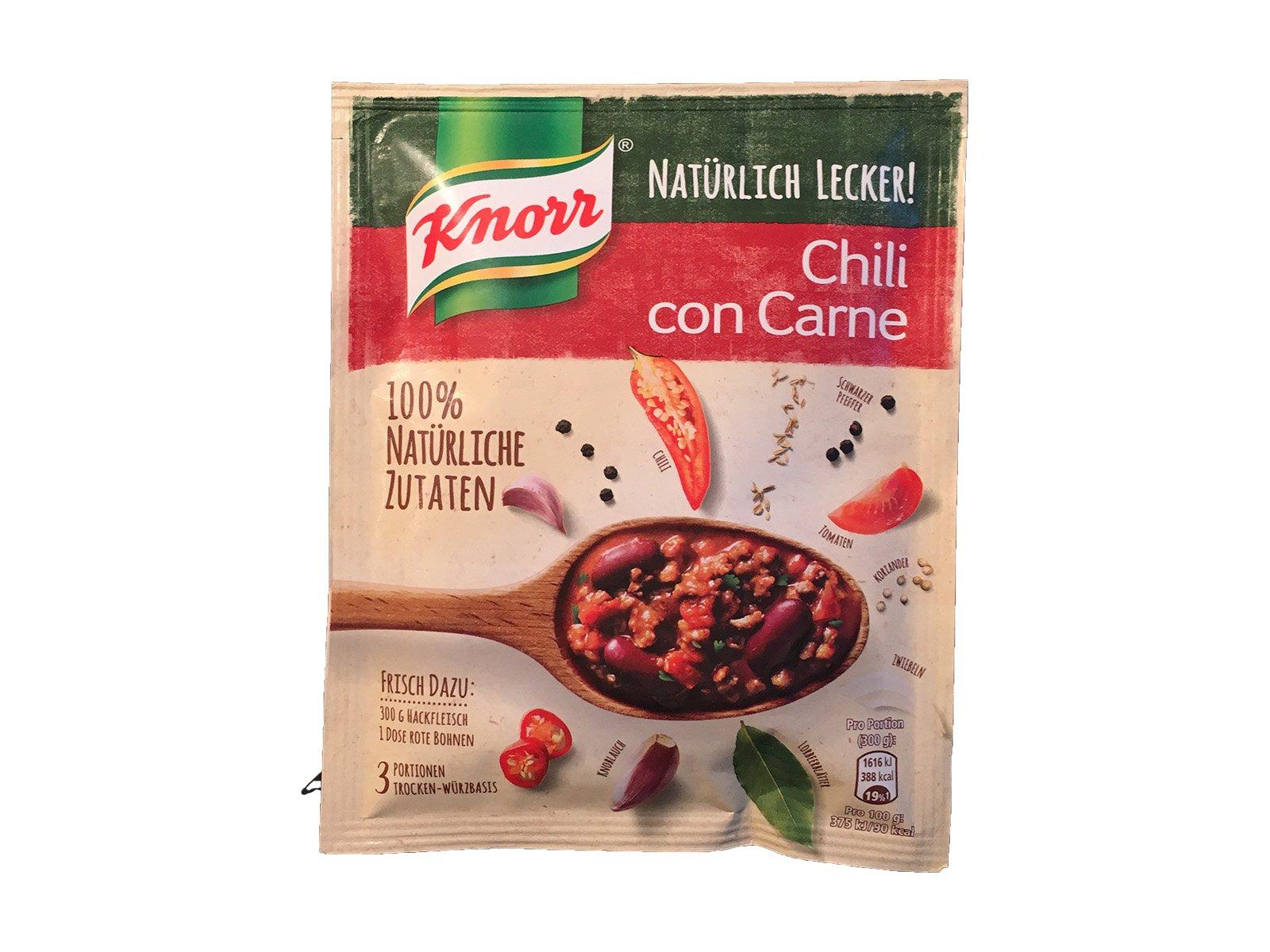 Testberichte Knorr Natürlich Lecker Chili Con Carne Kjerocom