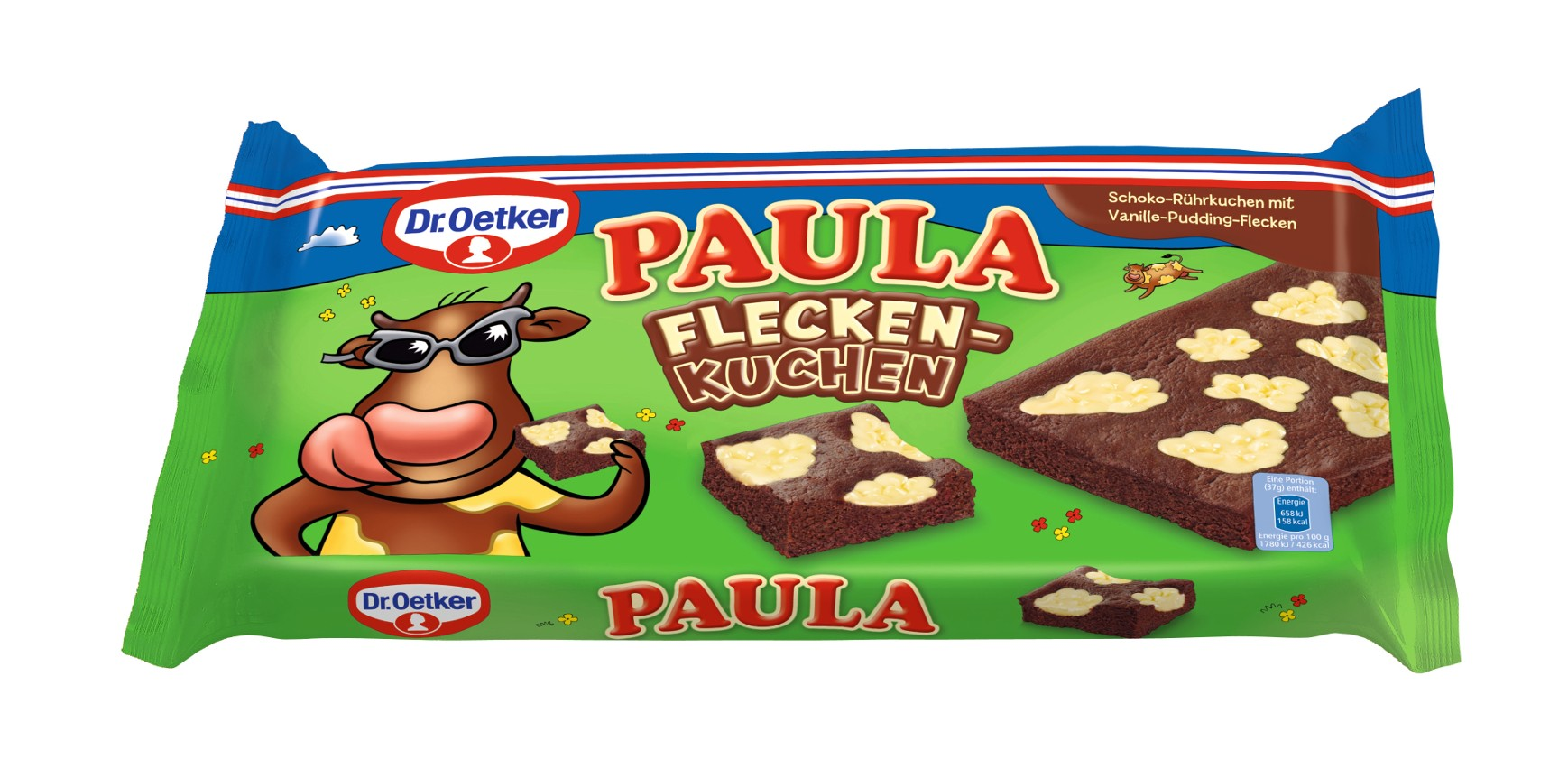Dr Oetker Paula Fleckenkuchen Mit Vanille Pudding Flecken Kjero Com