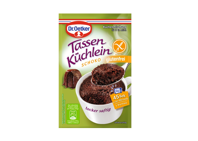 Dr Oetker Tassen Kuchlein Schoko Glutenfrei Kjero Com