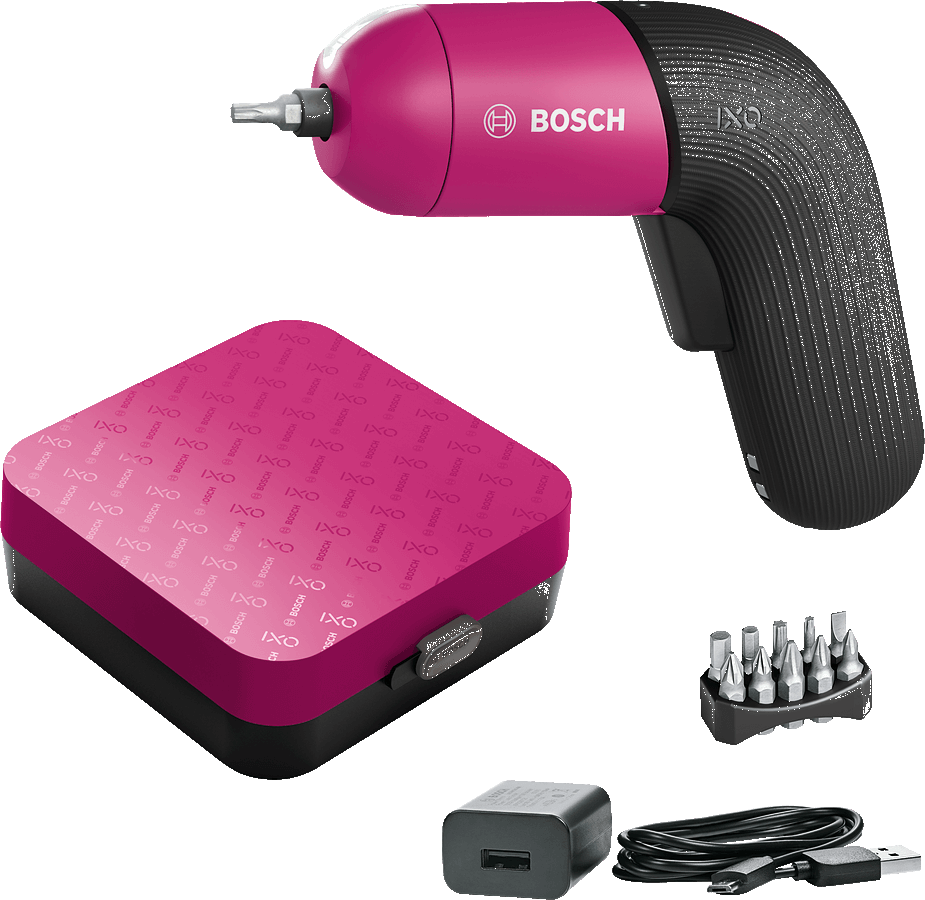 Bosch IXO 6 Color Edition mit Aufbewahrungsbox