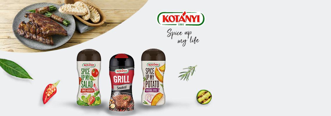 Kotányi - Gewürze für Dein Grillmenü