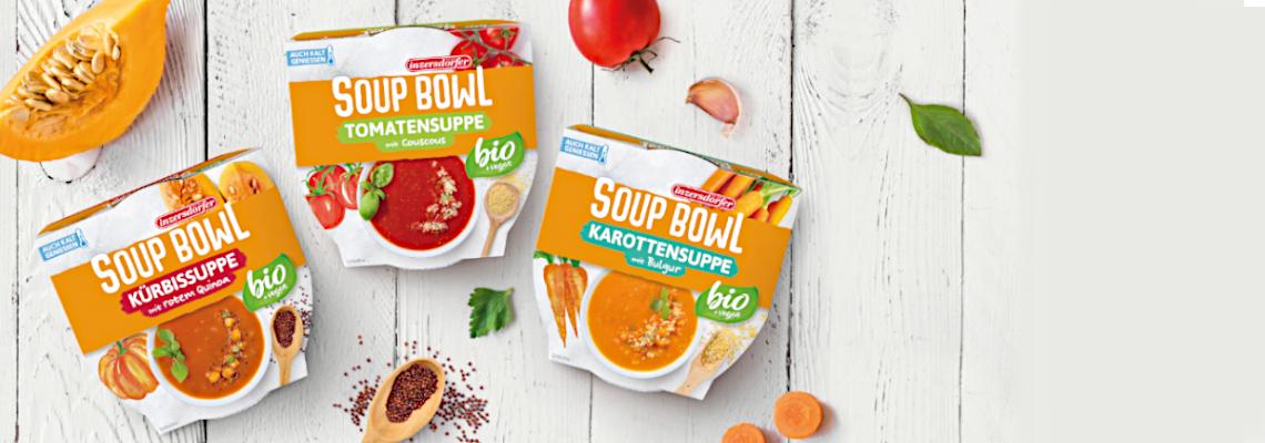 Soup Bowls - der neue Suppensnack!