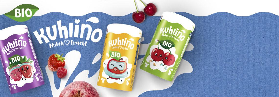 Bio-Milchmischgetränke in fruchtigen Sorten