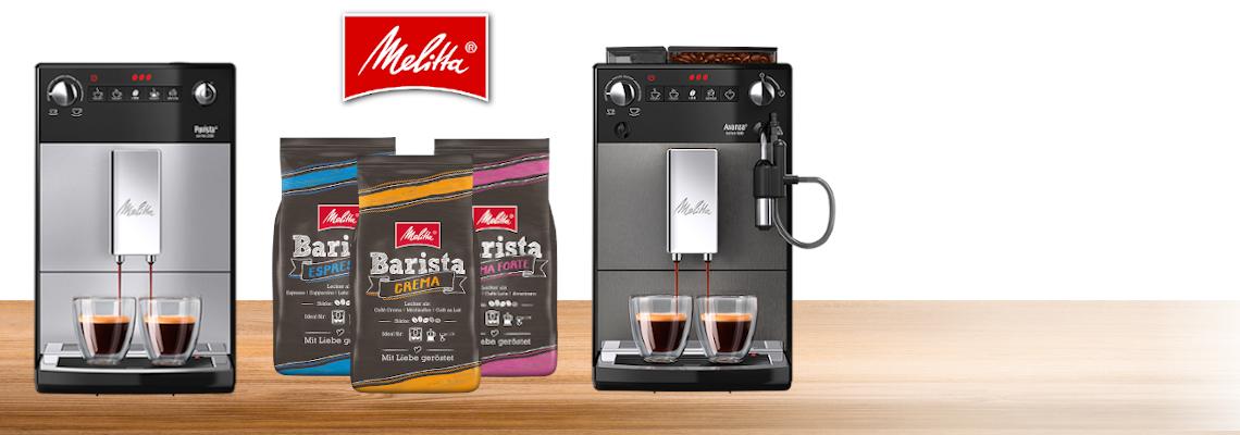Melitta® Kaffeevollautomaten