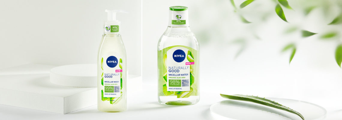 NIVEA Naturally Good Gesichtsreinigung