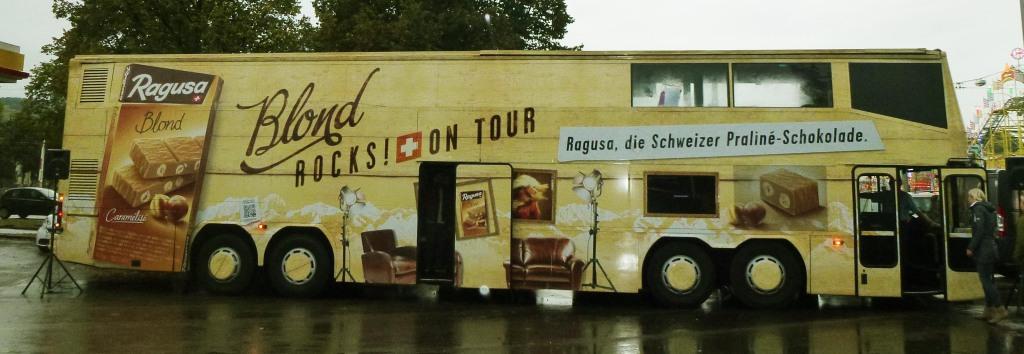 Ragusa Blond Rocks! Tour Bus