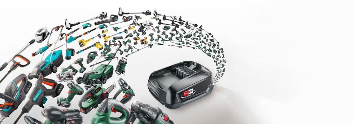 Bosch 18V POWER FOR ALL Akku-System