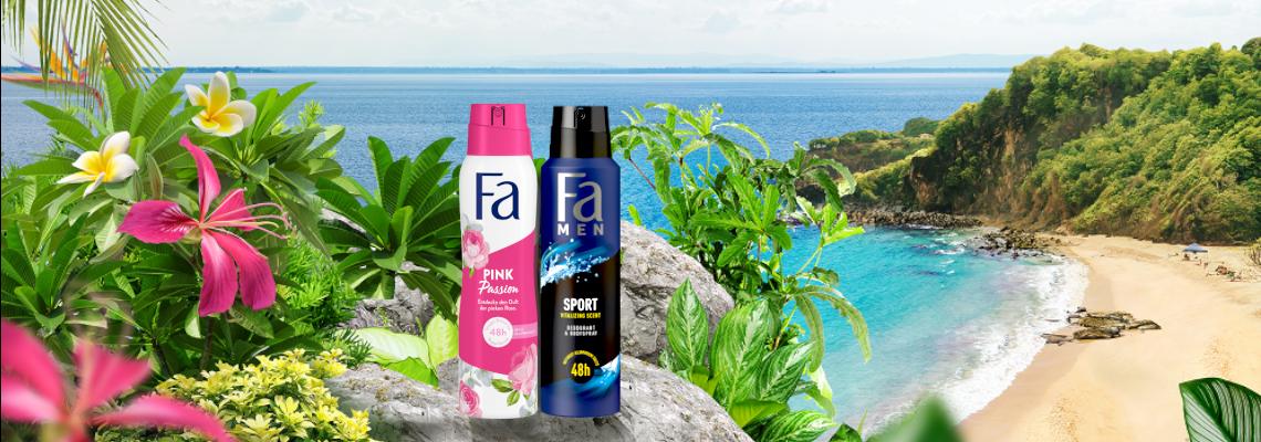 Fa Deodorant Produkttest