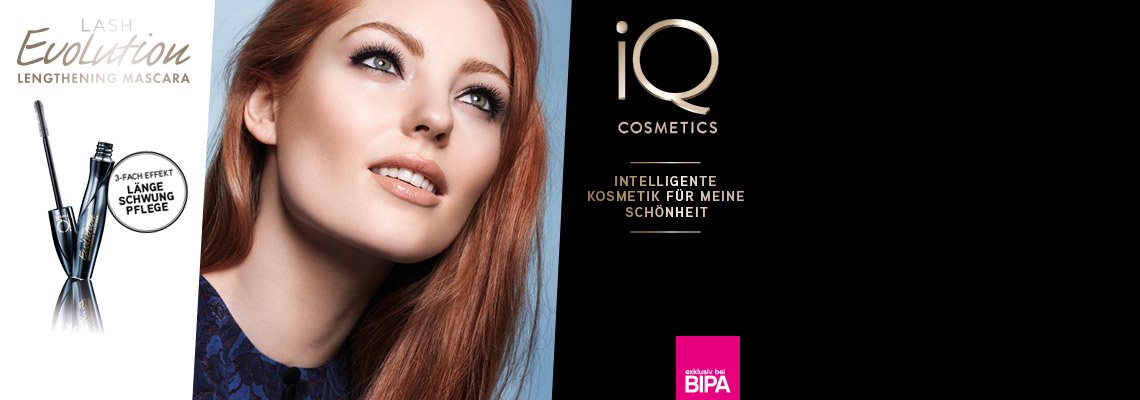 iQ COSMETICS Lash Evolution Mascara Test