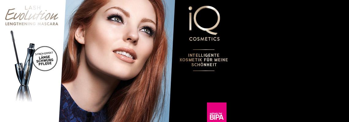iQ COSMETICS Lash Evolution Mascara Test
