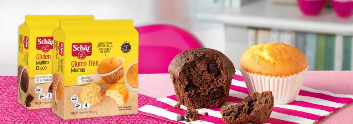 Schär glutenfreie Muffins