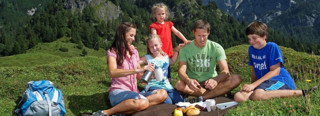 Wandern mit der Familie in den Kitzbüheler Alpen