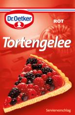 Tortengelee-rot- Dr. Oetker Kjero