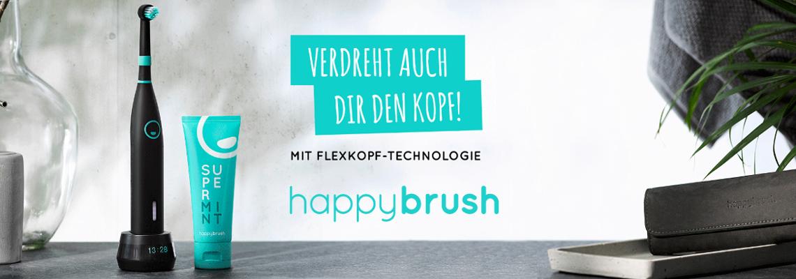 happybrush - Rotierende Zahnbürste