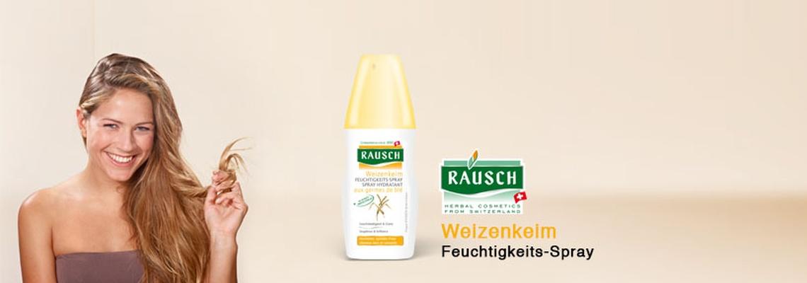 RAUSCH Weizenkeim Feuchtigkeits-Spray Test